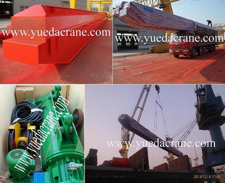 single girder overhead crane to Azerbaijan